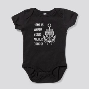 HOME IS WHERE... Baby Bodysuit