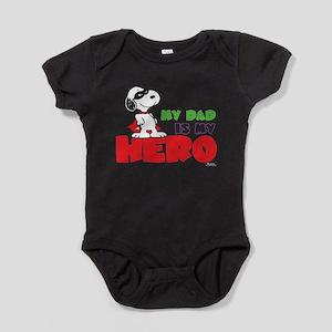 Peanuts: Dad Hero Baby Bodysuit
