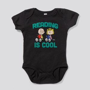 Charlie & Sally Brown-Reading is Coo Baby Bodysuit