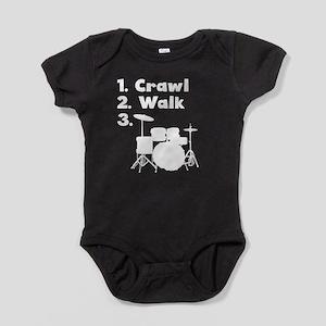 Crawl Walk Drum Body Suit