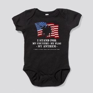 Stand For the Anthem 2 Baby Bodysuit