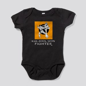 Kuk Sool Won Fighter Designs Baby Bodysuit