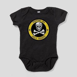 3-vf84logo Baby Bodysuit