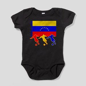 Venezuela Soccer Infant Bodysuit Body Suit