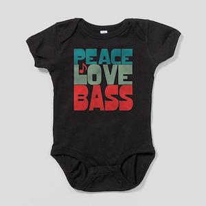 Peace Love Bass Infant Bodysuit Body Suit