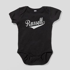 Russell, Retro, Baby Bodysuit