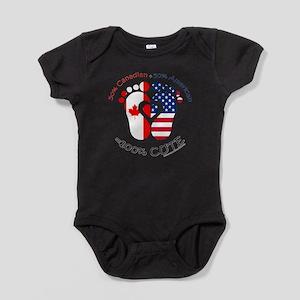 Canadian American Baby Baby Bodysuit