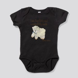 Wonderfully Made Sheep Baby Bodysuit