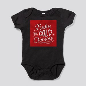 Baby It's Cold Outside [red] Baby Bodysuit