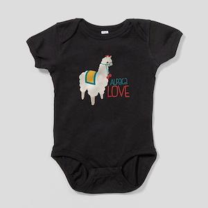 Alpaca Love Baby Bodysuit