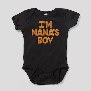 I'm Nana's Boy Baby Bodysuit