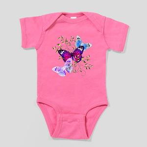 Papillons Baby Bodysuit