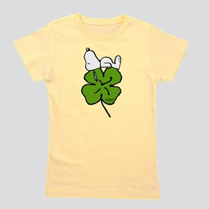 Snoopy and Clover Girl's Tee