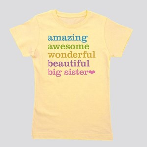 Big Sister - Amazing Awesome Girl's Tee
