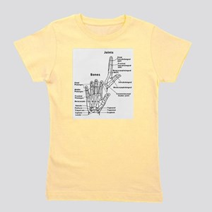 hand anatomy Girl's Tee