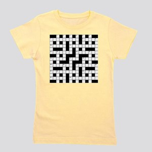 Crossword Girl's Tee