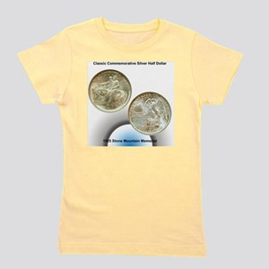 Stone Mountain Memorial Half Dollar Coi Girl's Tee