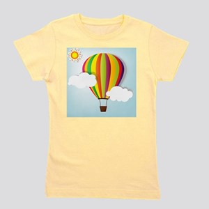 Hot Air Balloon Girl's Tee