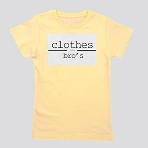 Clothes over Bros Girl's Tee