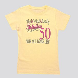50th Birthday Girls Classic T Shirts