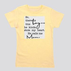 691c2fc9 T-Shirts. So There Is This Boy Who Stole My Heart Girl's Tee