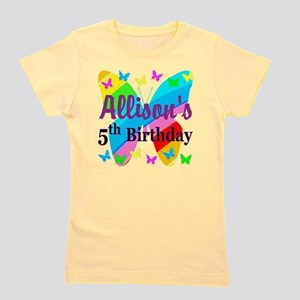 0fe85ed60 5th Birthday Splat - Personaliz Kids Light T-Shirt. $22.99 · PERSONALIZED 5TH  Girl's Tee
