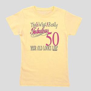 Fabulous 50yearold Girl's Tee