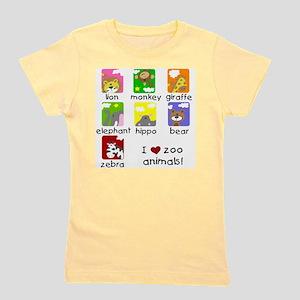 I Love Zoo Animals T-Shirt