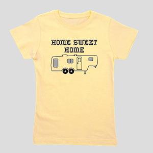 Home Sweet Home Fifth Wheel Girl's Tee