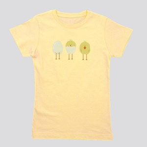 Hatched Chick Girl's Tee