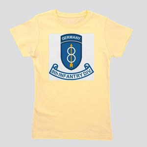 Army-8th-Infantry-Div-Germany-Scroll Girl's Tee