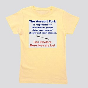 THE ASSAULT FORK... Girl's Tee