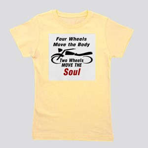 MOTORCYCLE - FOUR WHEELS MOVE THE BODY, Girl's Tee