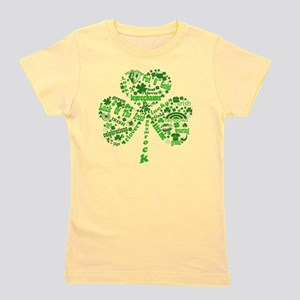 Irish Shamrock Girl's Tee