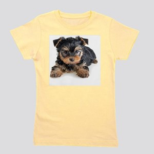 Yorkshire Terrier Puppy Girl's Tee
