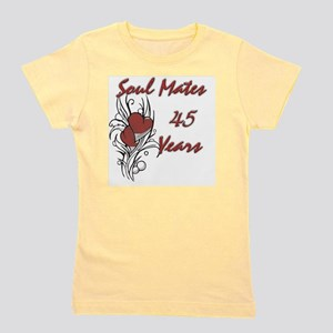 SOUL MATES Red 45 Girl's Tee