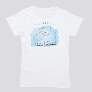 842560259351a Happy Abba Day With Cats- Girl's Tee
