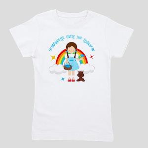 Dorothy Over The Rainbow Girl's Tee
