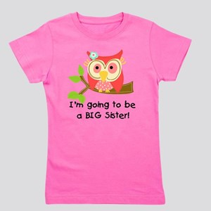 Owl Future Big Sister Girl's Tee