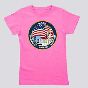 Kennedy Space Center Logo Girl's Tee