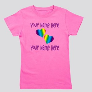 Rainbow Love Girl's Tee