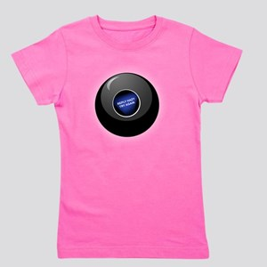 magic-8-ball-black-tshirt-back Girl's Tee
