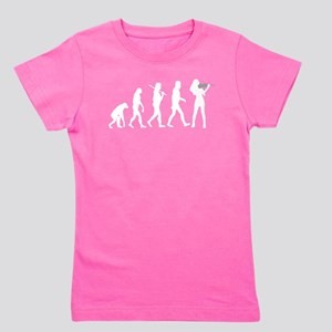 Violinist Evolution Girl's Tee