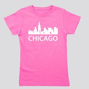 Chicago Skyline Girl's Tee
