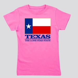 Texas State Flag Girl's Tee