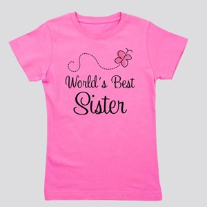 World's Best Sister Girl's Tee