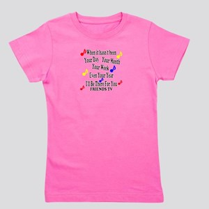 Theme Song Lyrics Girl's Tee