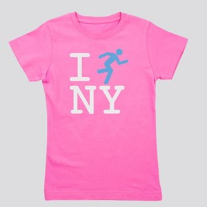 I-Run-NY-Color2 Girl's Tee