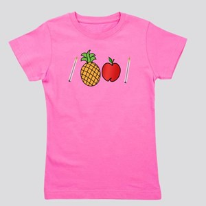 Pen Pineapple Apple Pen Girl's Tee