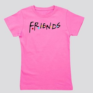 friendstv logo Girl's Tee